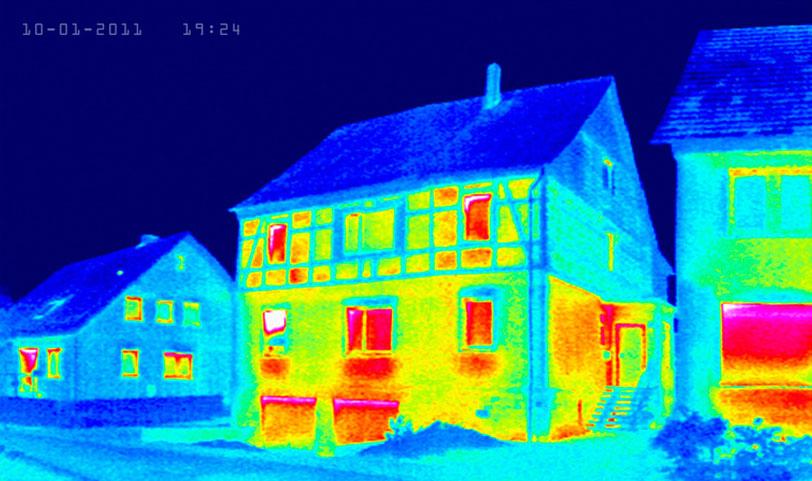 Thermografie Chekk Schornsteinfeger