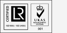 Zertifizierung Lloyd's Register, UKAS Chekk Schornsteinfeger